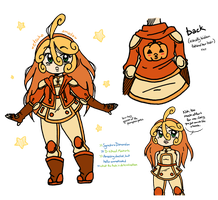 [ygo] little miss pumpkin spice by LadyZiodyne