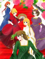 The Call of Spring/The May Festival (Girl version) by noanio