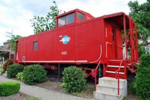 missouri pacific caboose by SMT-Images