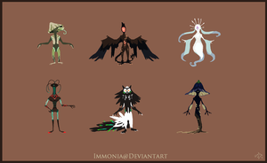 Design Sheet Commish Mels by Immonia