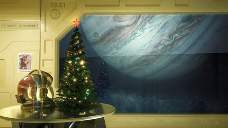 New Year wallpaper for USSR-2061 by archy13