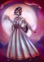 Mary Todd Lincoln: Lycanthrope by FullMoonMaster