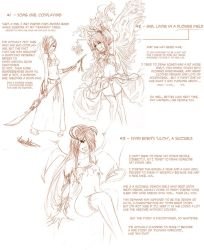 Latest Sketches Summary by Lan-Nhi