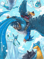 Frozen x Pokemon: Ice Gatherers Team