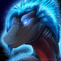 Icon Comish - Cool Neon by TwilightSaint