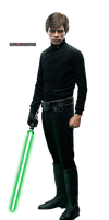 Luke Skywalker - Star Wars: Battlefront (Render) by Crussong