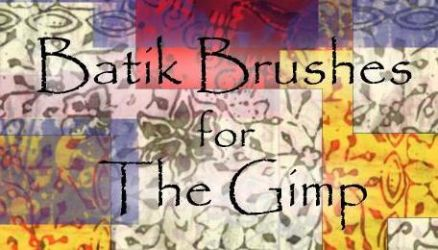 Batik Brushes for The Gimp by metta