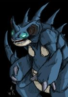 Nidoqueen by Uniformshark