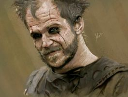 Floki, portrait. by Sweetcidia