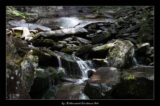 Smoky Mtns - Rainbow Falls III by ransim