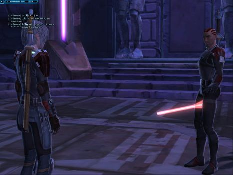 NSFW? Star Wars The Old Republic bug screenshot by tirsden