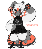 {MASCOT} CERBERUS by CANDY-BEE