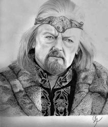 king theoden by corekoshe