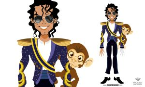 MICHAEL JACKSON Bubbles by nicotronick
