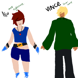 Alex And Vince  by Lousweet