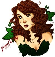 Adam Hughes Inspired Poison Ivy by RooseKrautshire