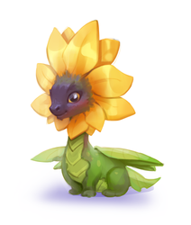 Sunflower by Nieris