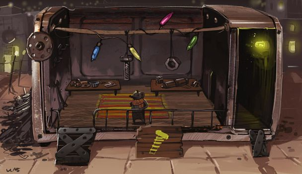 Shrew Spare Parts Store by HamsterEagleHunter