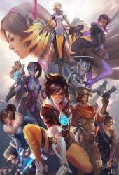 Overwatch Poster by jiuge