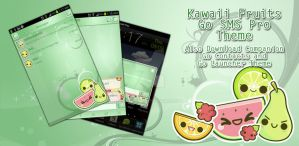 Kawaii Fruits Go SMS Pro Theme by Jekmyster