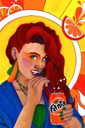 Fanta Girl by TheDyson