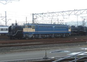 JR West EF65.1128 with JNR C61.2 and C55.1 by rlkitterman