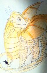 Wings Of Fire: Thistle by WitchyArtistGal