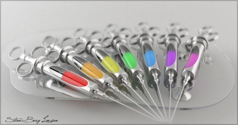 Toxic Syringes - Colorful by Stianbl