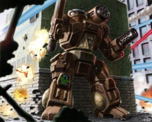 Battletech - Trapped by SteamPoweredMikeJ