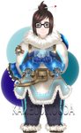 Mei from Overwatch by Kameccino