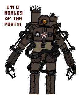 Mechanized Party Fanatic by NicklausofKrieg