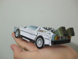 DeLorean - Back to the Future - Papercraft by Gust-TRON