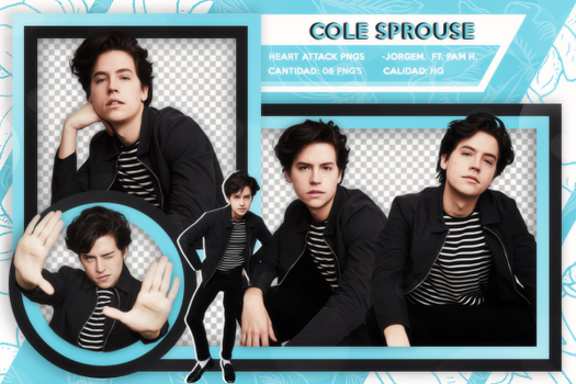 Pack png: Cole Sprouse by JorgeMinaj