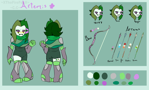 :: Card character - Reference :: by XTheFireFoxX
