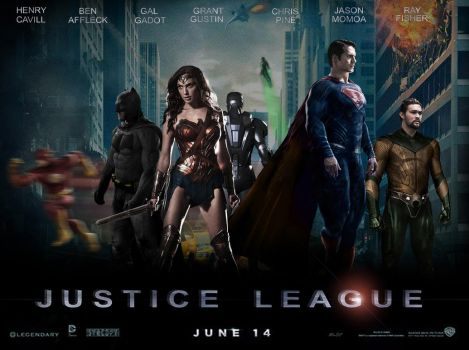 Justice League poster by fmirza95