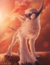 [Draw For Glory] Absol by WraithWolves