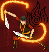 Fire Nation Son by musogato