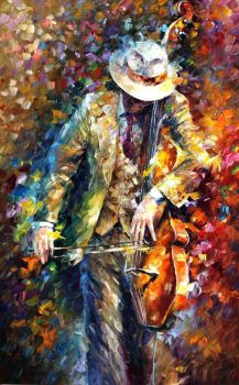 Misty Music by Leonid Afremov by Leonidafremov