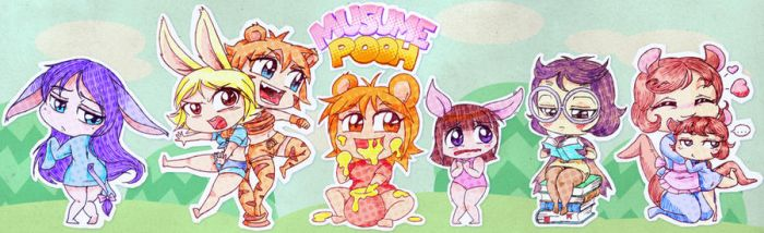 Musume Pooh by Edgar-Q