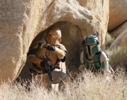 Mandalorians by Fired13