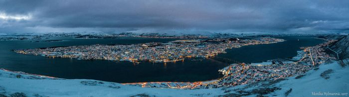 Tromso Panorama by amrodel