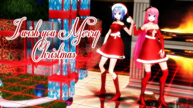 MMD xmas tda download by rmportaflow