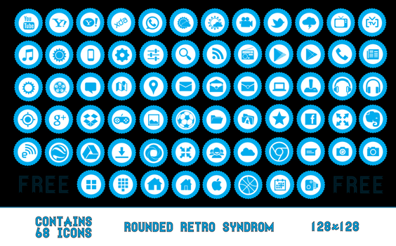 Rounded Retro Syndrom by StressSyndrom