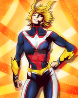 Allmight women (boku no hero academia) by MaxGreenKiki