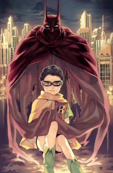 Robin : Dick grayson by Lverin