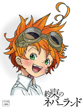 The Promised Neverland Emma Manga Colors Anime by Amanomoon