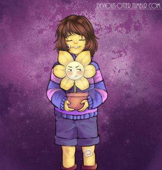 Switch around- Frisk by DeviousOtter