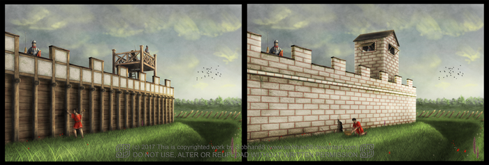 Roman Fort Commission by Siobhan68