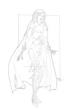 The Vampire Queen First Design by Innocens-Castitate