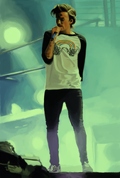 Louis Tomlinson by invisibleheros